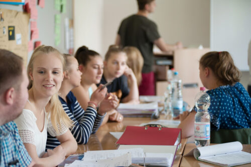 Klassenraum Berufsschulzentrum Rendsburg Eckernförde